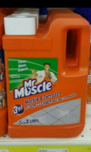 Brand New Mr Muscle Marble & Terrazzo Floor Cleaner With Wax Formulation