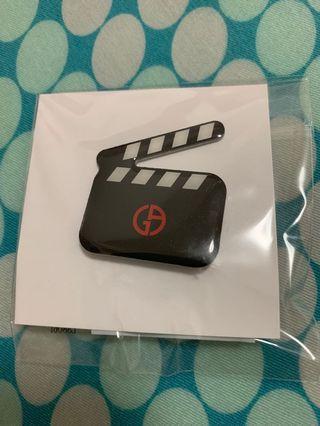 Giorgio Armani VIP gift pins