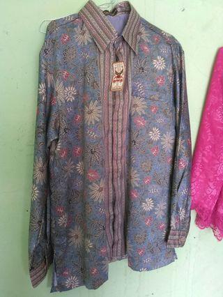 Baju batik kencana putra Indonesia terbaru