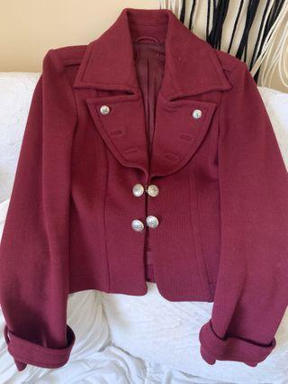 Vintage Maroon Blazer