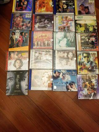 Leslie Cheung's 21 movies VCDs