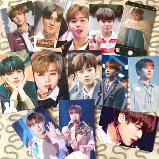 🚚 park jihoon unofficial photocards pc