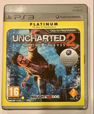🚚 PS3 - Unchartered 2 - Among Thieves