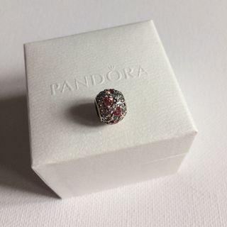 Pandora Shimmering Heart Charm (Retired)