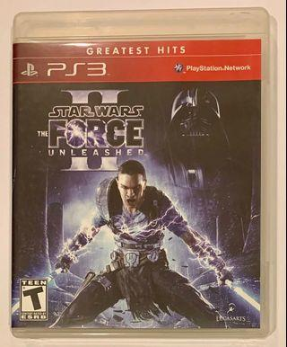 PS3 - STAR WARS The Force Unleased