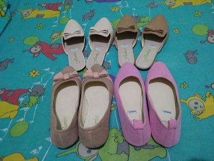 sendal slip on dan flatshoes