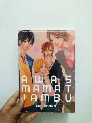 Manga : Risa Konno, Awas Mamat Jambu