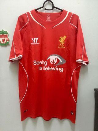 Liverpool FC Home Kit 2014/15