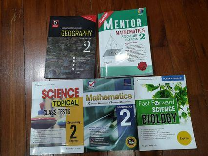 Secondary 2 guidebooks