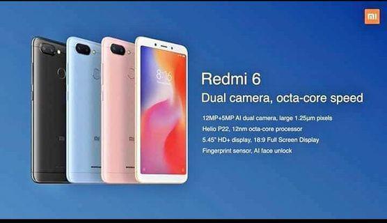 🚚 Redmi 6