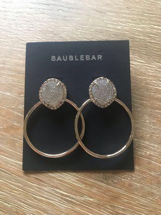 BNWT hoop earrings