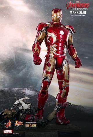 Hot toys Ironman mark XLIII avengers age of ultron