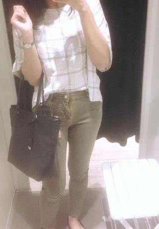 stradivarius skinny fit jeans (free ongkir)