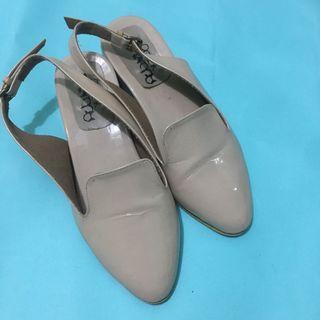 Mules Shoes warna Creme