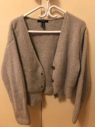 Short cardigan from F21 (Size M)