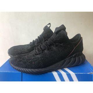 Adidas doom sock 小350 全黑 us10.5