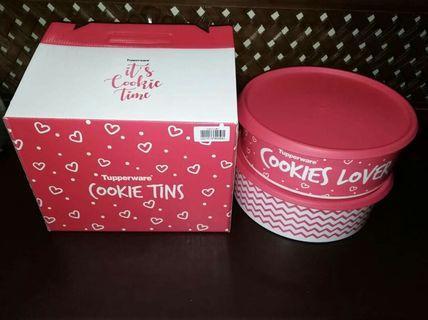 Cookies tins 2pcs 2,7L
