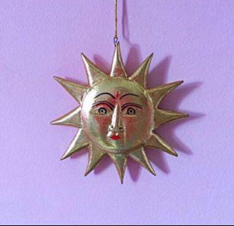 Wooden mask Decoration