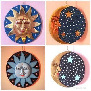 Wooden Masks Decoration