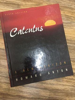 Calculus: A New Horizon by Howard Anton