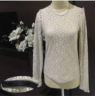 White Lace Top Zara