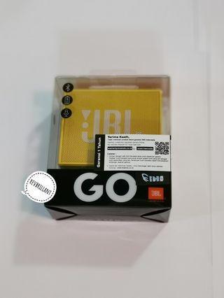 JBL GO Wireless Bluetooth Portable Speaker With Speakerphone - Kuning