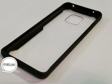Casing Huawei Mate 20 Pro Silicone Frame Transparent