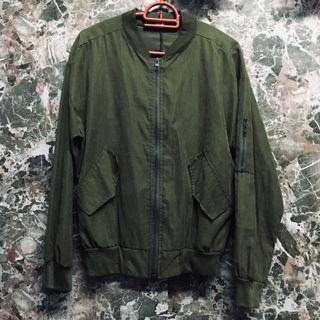 Green Bomber Jacket #GayaRaya
