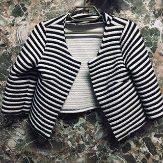 Stripes Blazer #GayaRaya