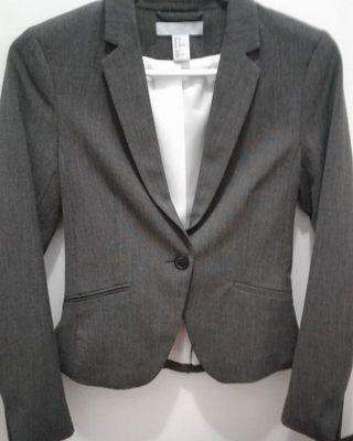 H&M dark grey blazer