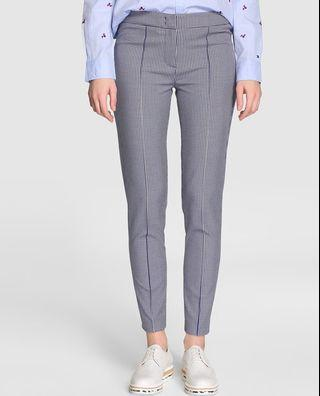 Tommy Hilfiger women's check-print skinny trousers
