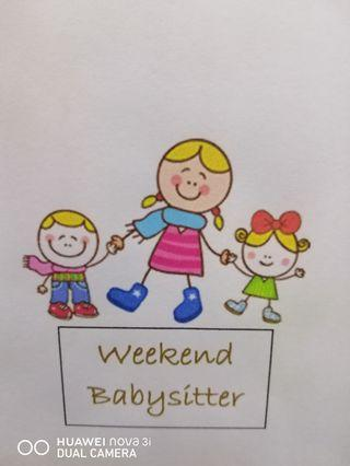 Weekend and night baby sitter