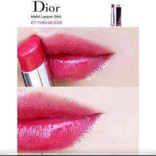 Dior癮誘超模漆光唇釉 #877 Turn Me Dior