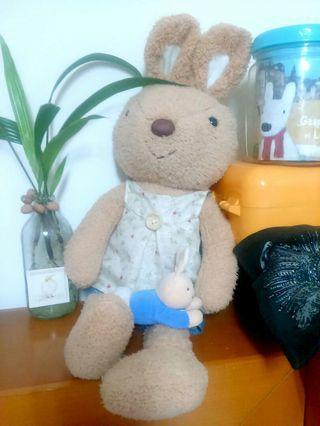 Peter rabbit and JOY rabbit大兔小兔合售