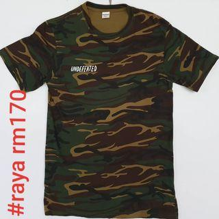 #RAYA170 UNDEFEATED SMALL Japan Exclusive TrunkDogs Camo Tee