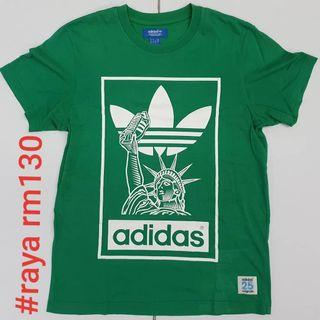 #RAYA130 ADIDAS Originals SMALL x NIGO 25 NYC Green Tee