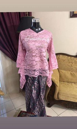 Blouse Lace + Batik PARIO