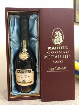 木盒裝Martell Cognac Medaillon VSOP