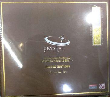 全新 限量  蔡琴  老歌 CRYSTAL CD [ 玻璃CD] 號碼