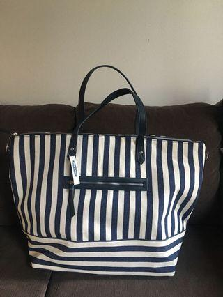 BNWT Old Navy Striped Tote
