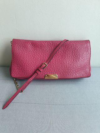 68c9694c0d1c Authentic BURBERRY Fuchsia Shoulder bag