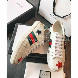 Gucci Ace Embroidered Star Sneakers