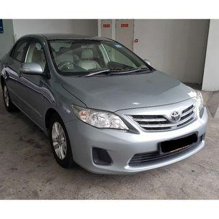 TOYOTA ALTIS *CHEAP LEASE*