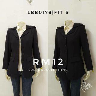 Black Jacket Blazer