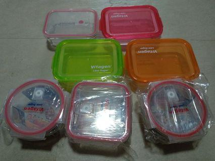 Vitagen glass container