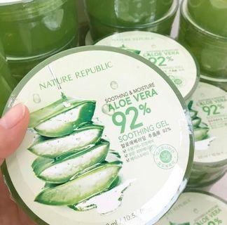(FREE ONGKIR) Nature Republic Aloe Vera Soothing Gel