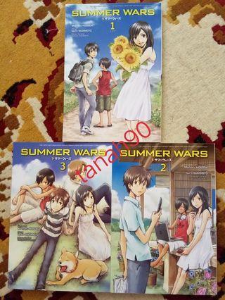 Summer Wars Fullset 1-3