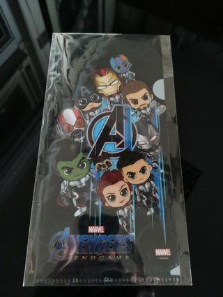 Avengers endgame 復仇者聯盟 膠 file holder hottoys cosbaby