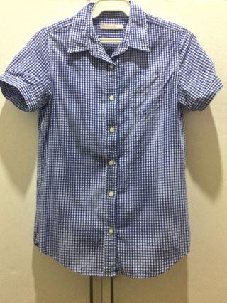 Lowrys Farm Gingham Print Blouse