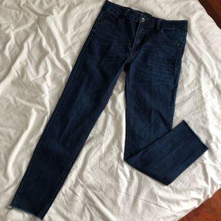 Seed Navy Blue - Skinny Jeans Size M- RM 30 FOR SALE